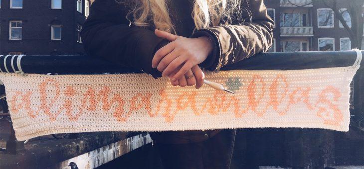 Yarn Bombing en Amsterdam