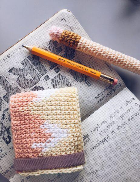 Card Mountains Alimaravillas patron crochet cartera