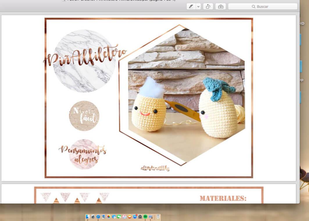 instrucciones compra patrones crochet
