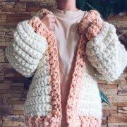 Sweet Gypsy Cardigan crochet alimaravillas