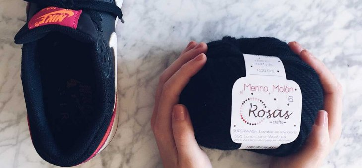 KICKS & YARNS: NIKE & ROSAS CRAFTS