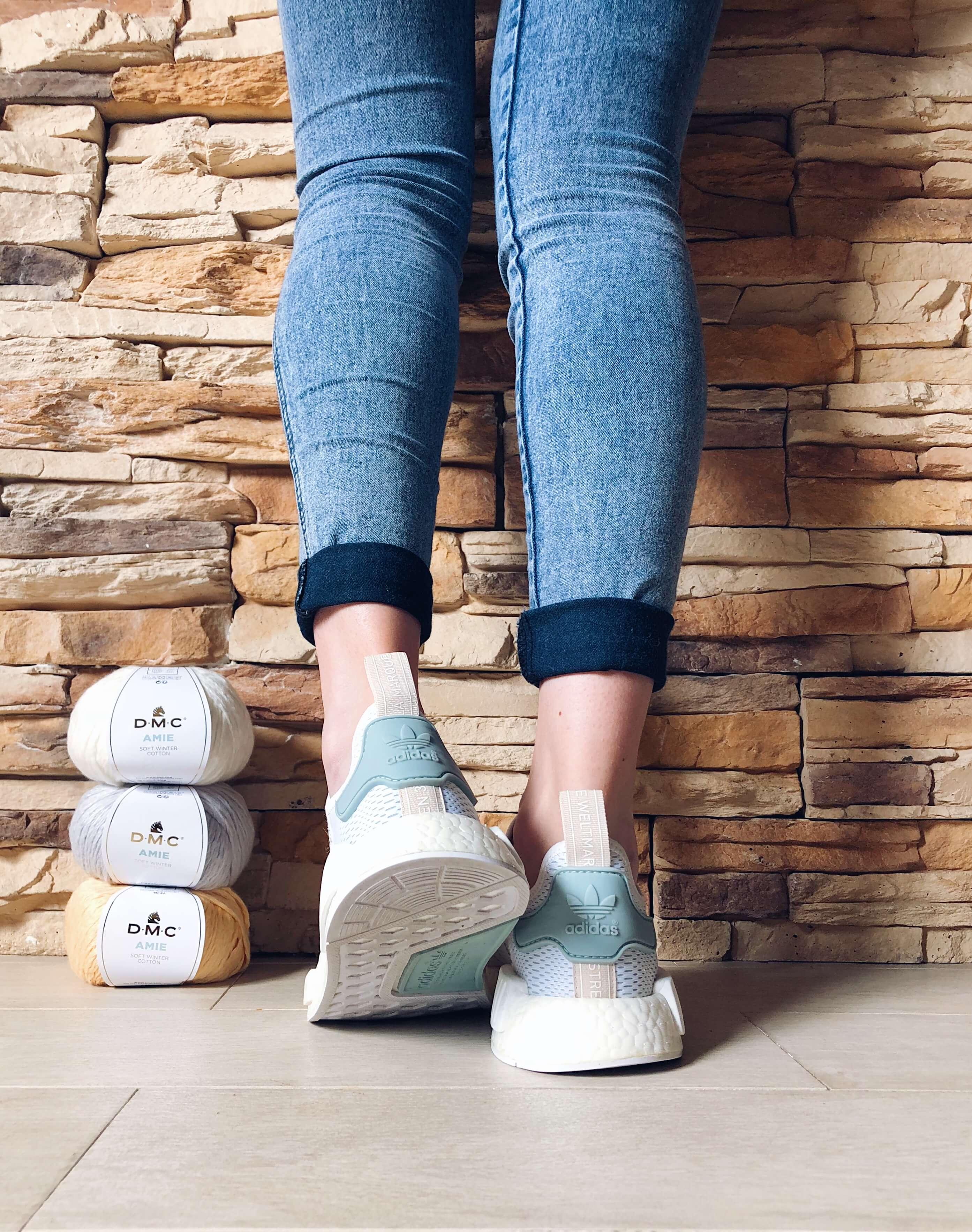 Sneakers adidas nmd alimaravillas crochet