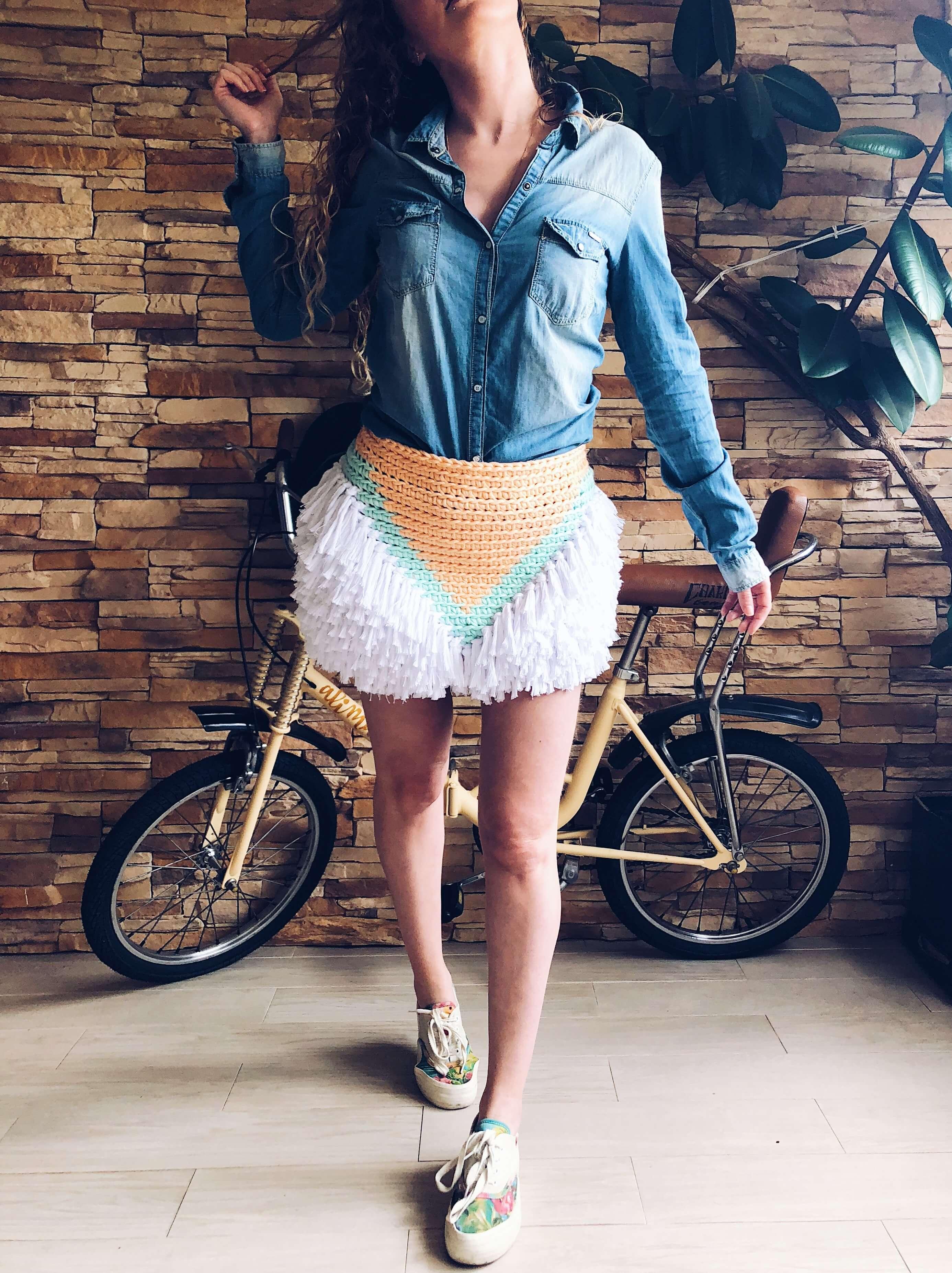 Fresh Navajo - Falda de crochet alimaravillas