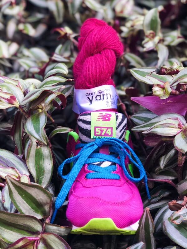 kicks sneakers darn good yarn new balance