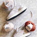 kicks and yarns adidas i 5329 mini whose katia yarns