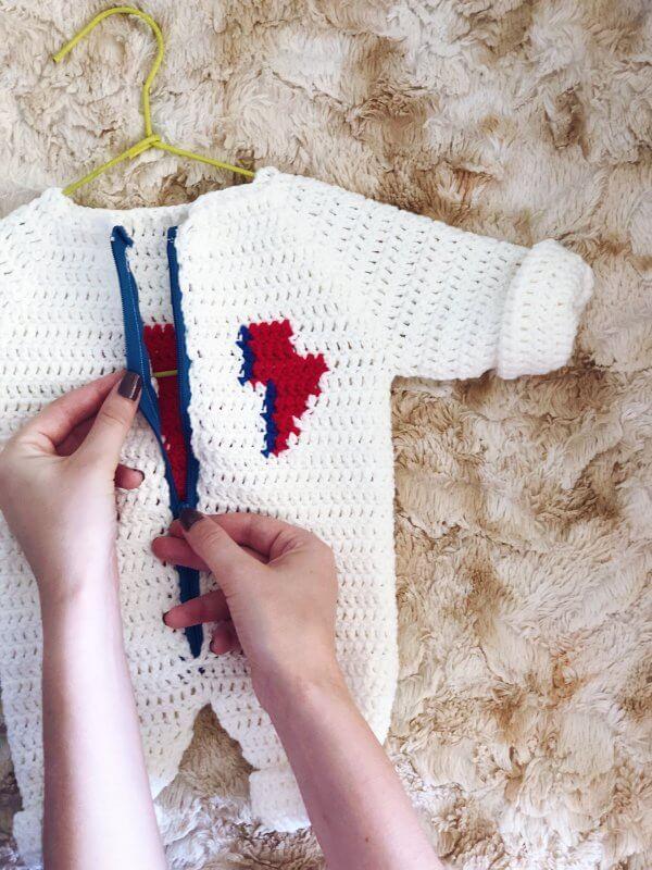 Baby Bowie Patrón crochet alimaravillas