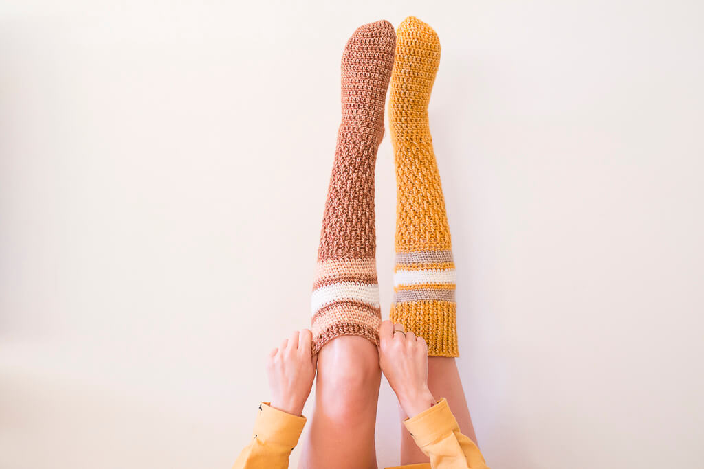 0. Cozy Socks (Patrón crochet) - Alimaravillas